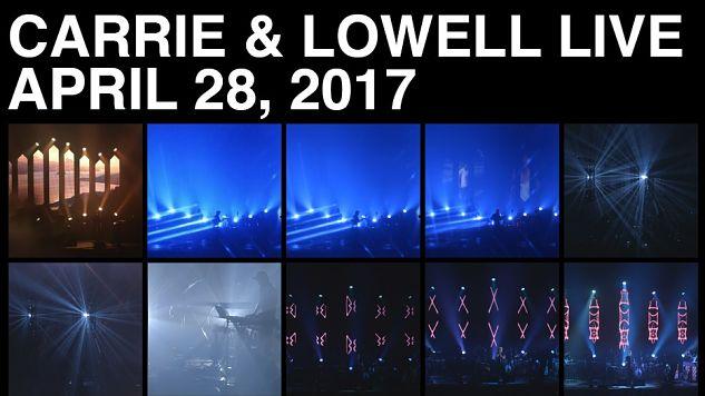 Sufjan Stevens to Release <i>Carrie & Lowell</i> Live Album and Film Next Month