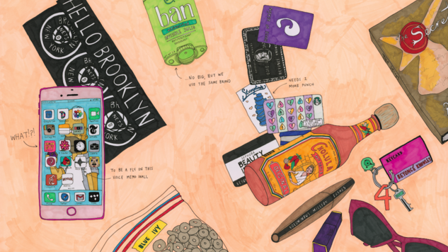 <i>Broad City</i>'s Abbi Jacobson Illustrates the Contents of Beyoncé & Trump's Bags in <i>Carry This Book</i>