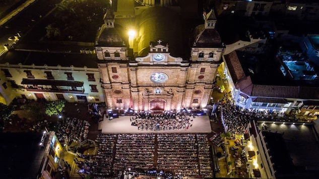 Last Weekend Cartagena Transformed into the City of Light