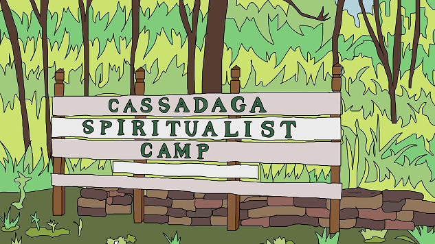 That Florida Spirit: Jamie Loftus Visits Cassadaga, the Psychic Capital of the World
