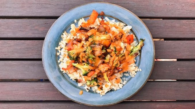 <i>Recipe for Fitness</i>: Cauliflower Rice Stir Fry