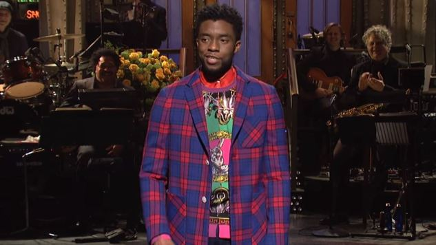 <i>Saturday Night Live</i> Gets Great Performances from Chadwick Boseman in a Mediocre Episode