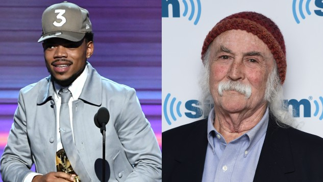 David Crosby Messes with Chance the Rapper in New Twitter Ad