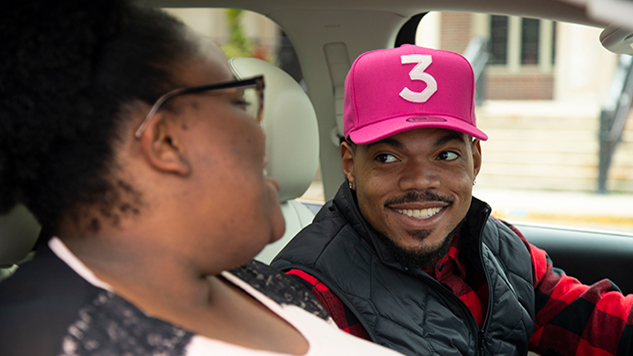 Watch Chance the Rapper Go Undercover as a Lyft Driver in Video for CPS Philanthropy Fund