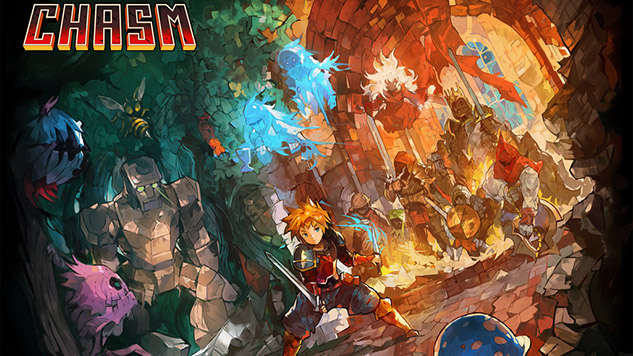 <i>Chasm</i> Is Finally Coming to PS4 and PS Vita This Summer