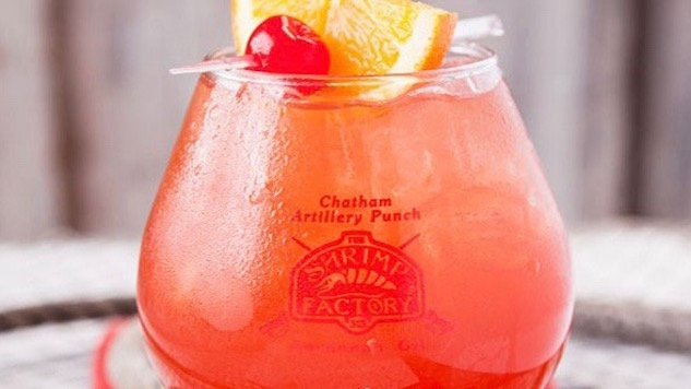 Chatham Artillery Punch: Maybe the Strongest Drink in American History