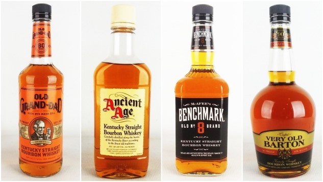 13 of the Best Bottom Shelf, Cheap Bourbons, Blind-Tasted and Ranked