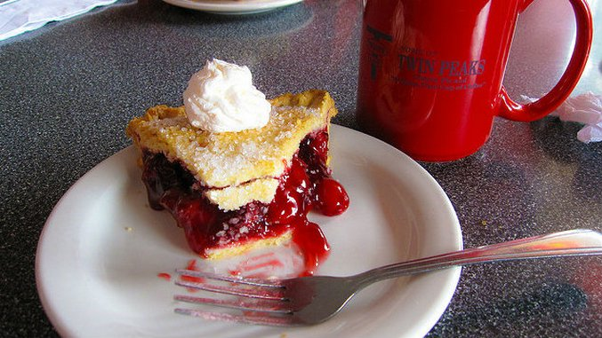 We Went to <i>Twin Peaks</i> Tuesday and Ate Killer Cherry Pie