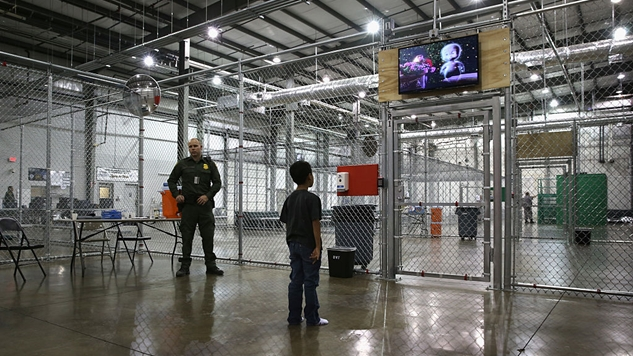 America Is Building Camps for Immigrant Children Concentrated on Our Military Bases
