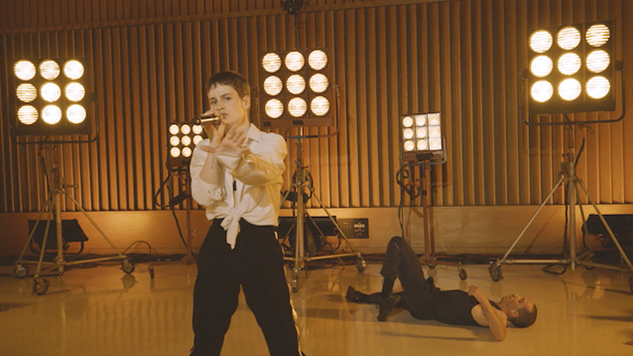 "Watch Christine and the Queens Perform ""Comme si"" Live at Capitol Studios"