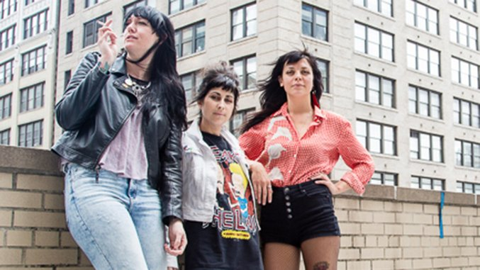 Behind the Scenes of The Coathangers at Paste