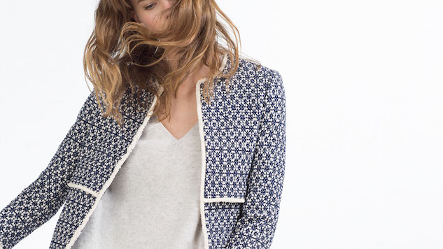 Pretty, Patterned Coats for Looking Put-Together