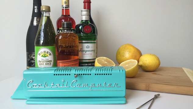 The Cocktail Computer Is The Home Bartender's Best Friend