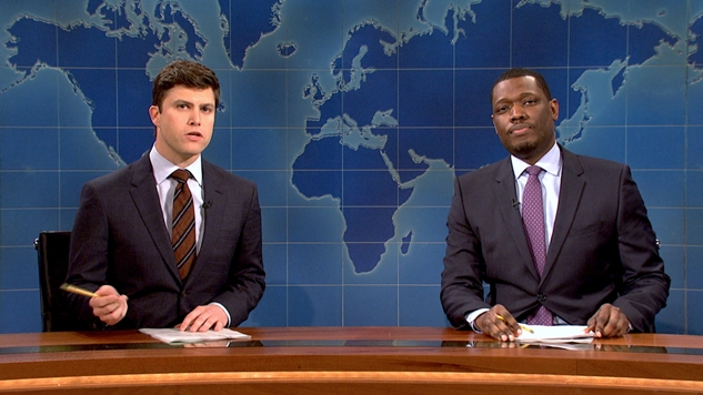 SNL: Colin Jost and Michael Che promoted to co-head writers