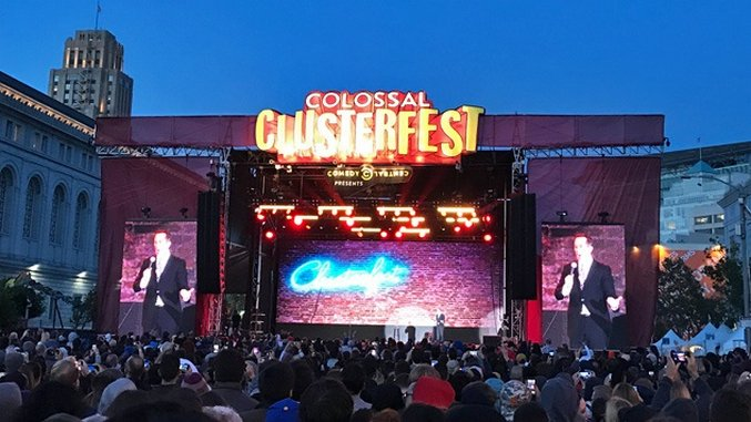 Comedy Central's Colossal Clusterfest Was a Festival Done Right