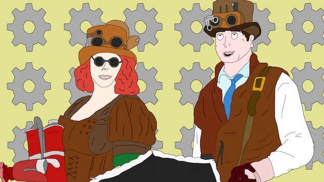 An Hour with the Leathervests, Comic-Con's Worst Steampunk Family