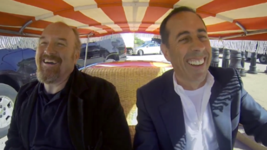 <i>Comedians in Cars Getting Coffee</i>: Louis C.K.