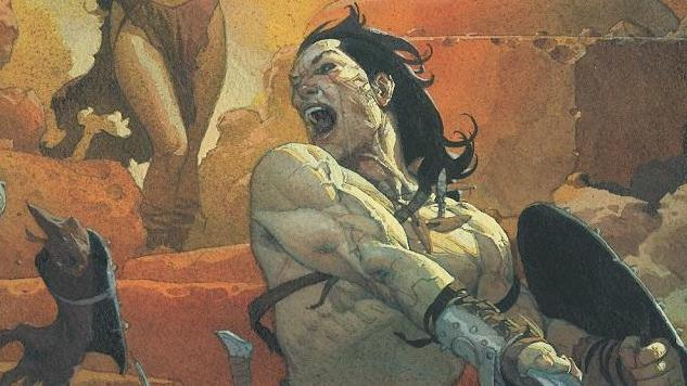 Jason Aaron & Mahmud Asrar Bring <i>Conan the Barbarian</i> Back to Marvel in January