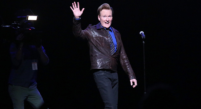 <i>Conan</i> to Return to TBS Next Week with Revamped Format, First Guest Star Tom Hanks