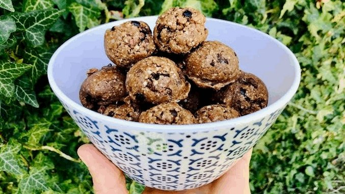 <i>Recipe for Fitness</i>: Kick Your Sugar Addiction with these Chocolate Cookie Dough Balls