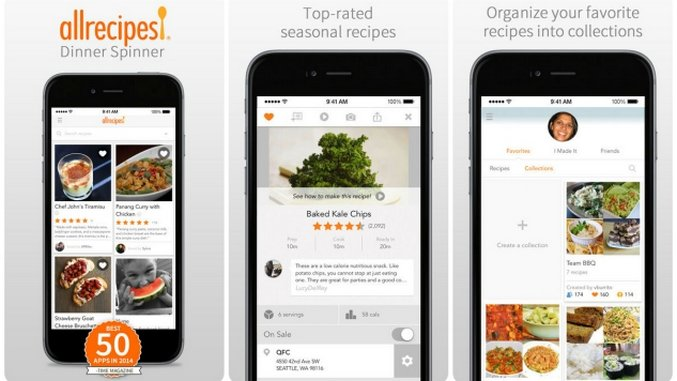 Smartphone sous chef the 10 best cooking apps tech lists smartphone sous chef the 10 best cooking apps forumfinder Images