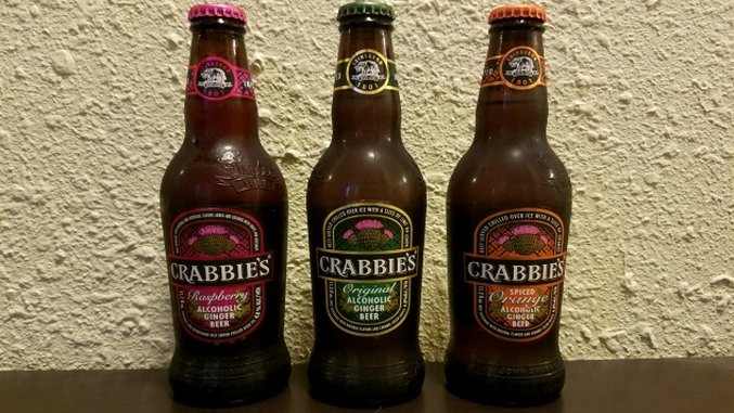 Crabbie's Original Ginger Beer, Spiced Orange, and Raspberry Review