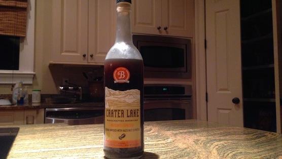 Crater Lake Hazelnut Espresso Vodka Review