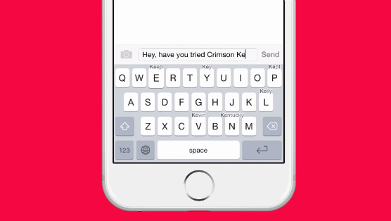 Crimson Keyboard App Review (iOS): A Light Typing Alternative