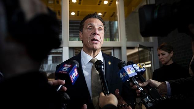 New York Governor Andrew Cuomo Calls for Legalization of Recreational Marijuana