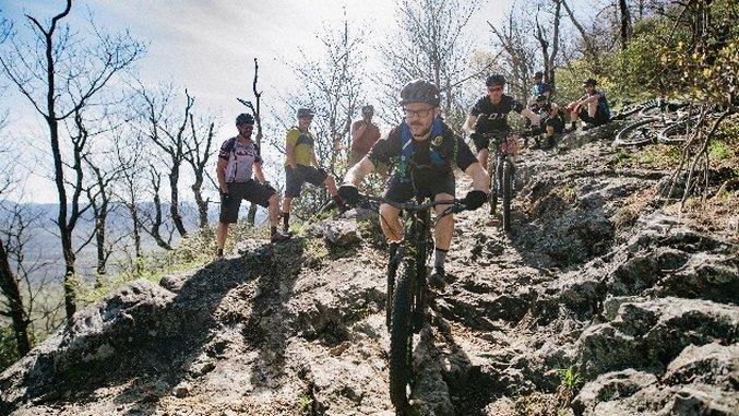 How Award-Winning Chef Justin Severino Finds Balance Mountain Biking