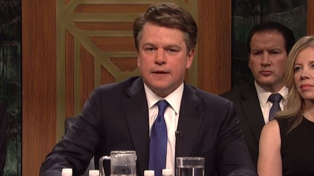ICYMI: Here's Matt Damon as Brett Kavanaugh on <i>Saturday Night Live</i>
