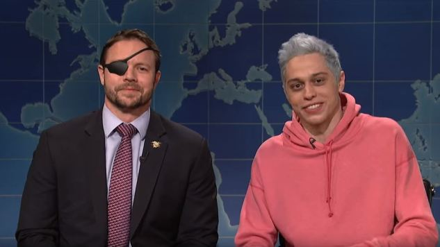 <i>SNL</i> Gives Another Right-Wing Politician a Spotlight as Dan Crenshaw Responds to Pete Davidson