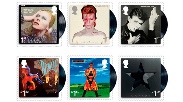 Send a Letter to Hermione: David Bowie Getting His Own Stamps