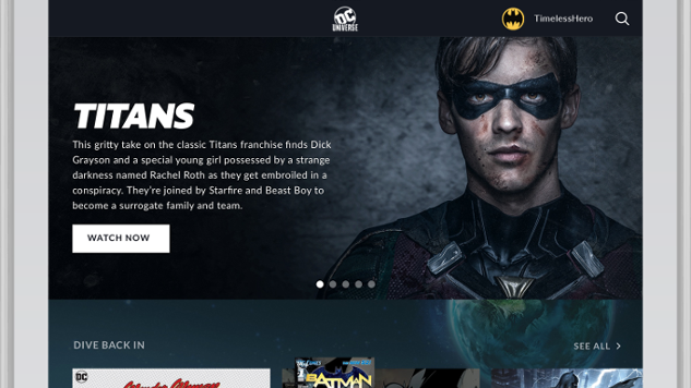 DC Announces Launch Date for DC Universe Streaming Service, <i>Titans</i> Series
