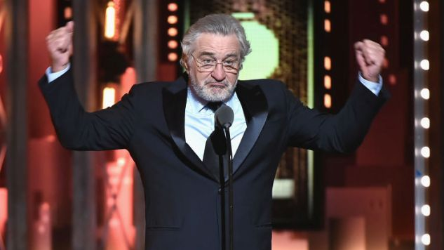 "Robert De Niro Said ""F--- Trump"" at the Tonys, and Here's the Uncensored Video"