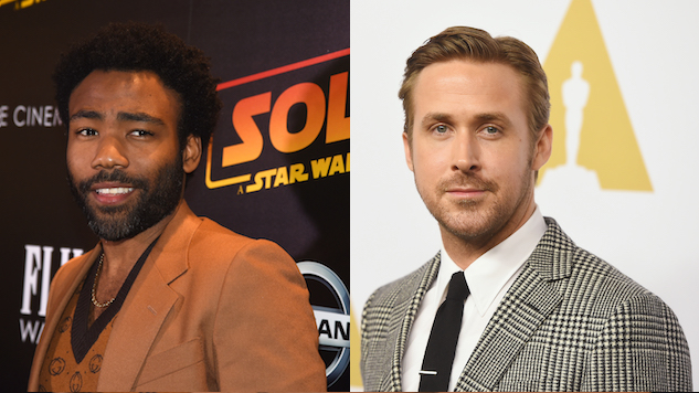 Donald Glover, Ryan Gosling Reportedly on the Shortlist to Lead Warner Bros.' <i>Willy Wonka</i> Film