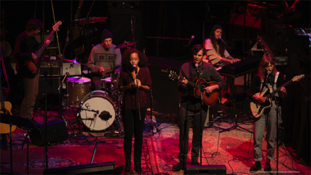 Watch Dirty Projectors, Anna & Elizabeth Perform on Chris Thile's <i>Live From Here</i>