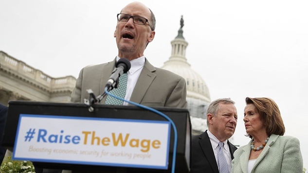 """DNC Chair Tom Perez Says the DNC """"Fell Short"""" of Giving All Democratic Candidates """"A Fair Shake"""" in 2016"""