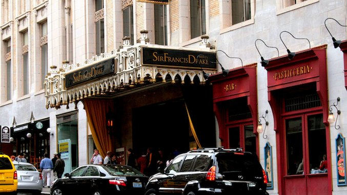 Hotel Intel: Sir Francis Drake, San Francisco