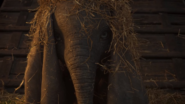First Teaser for Disney's Live-Action <I>Dumbo</I> Hints at its Dark Side