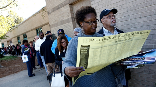 What Are Early Voting Numbers Across the Country Telling Us?