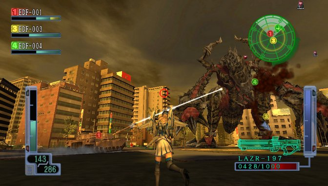 <em>Earth Defense Force 2017 Portable</em> Review (Vita)