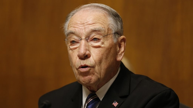 GOP Senator Chuck Grassley Opened the Dr. Christine Ford Hearing With a Whiny, Victim-Blaming, Partisan Rant