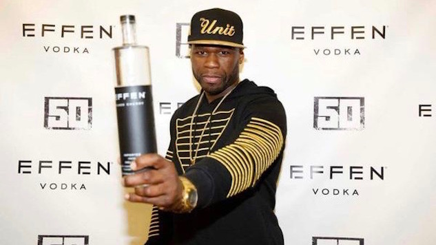 50 Cent Wants You to Drink His Effen Vodka