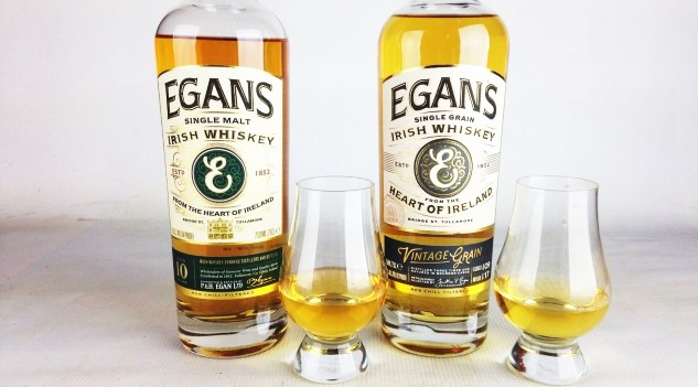 Egan's Vintage Grain and Single Malt Irish Whiskey Reviews