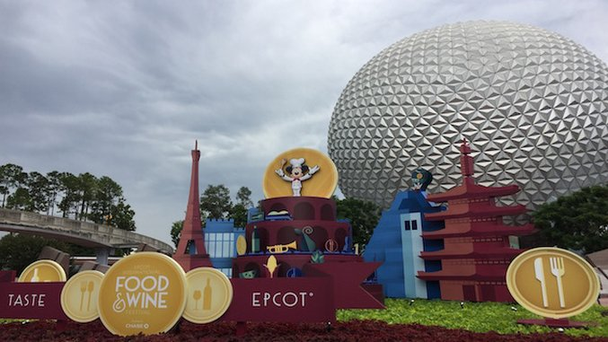 Eating Around the World at the Epcot International Food & Wine Festival