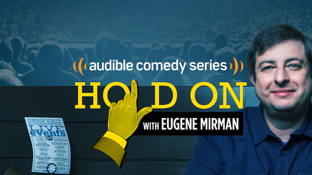 """He's a Monsoon of Garbage"": Eugene Mirman on Trump, 2017 and <i>Hold On</i>"