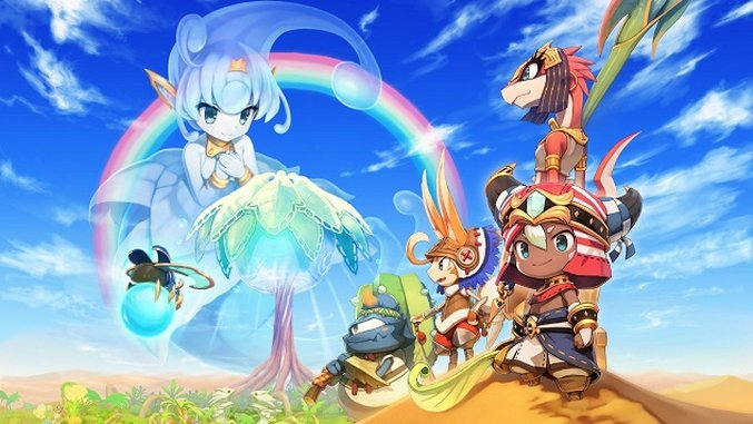 The Cheery <i>Ever Oasis</i> Brings Life to Your 3DS