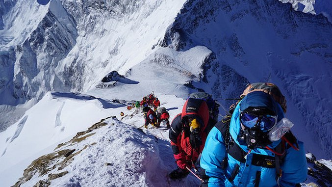 Overcrowding May Cause Danger on Everest This Year
