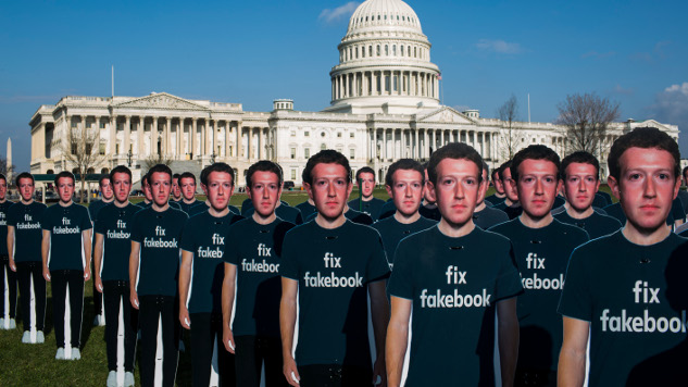 Facebook Purges Over 800 Accounts, Pages Pushing Political Spam